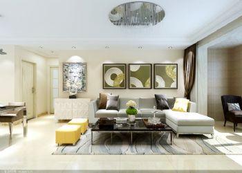 舒适休闲现代三居装修案例