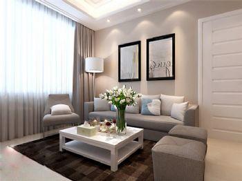 88平米现代简约二居设计案例