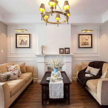 美式风格复式公寓设计案例