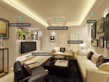 把簡單帶回家現代風格三居室