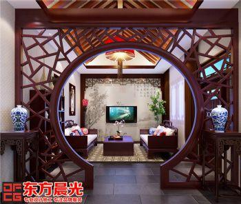 中式四合院装修设计幽然古韵中式风格别墅