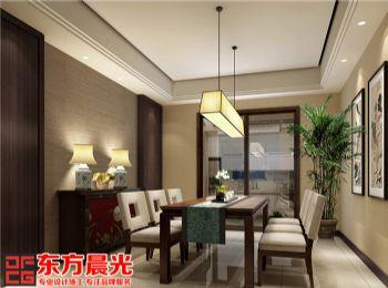 中式别墅装修设计古典幽兰中式风格别墅