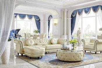 白色简欧风格别墅设计案例