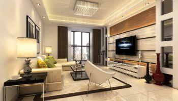 得一份喧嚣中的宁静现代风格三居室