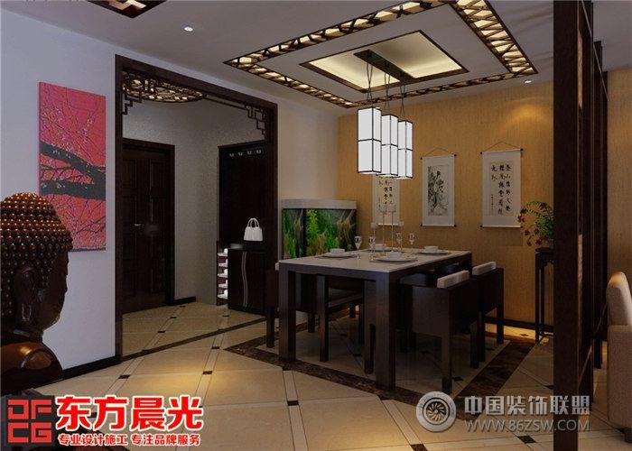 北京四合院设计装修中式唯美-餐厅装修图片
