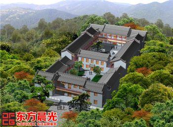 北京四合院设计装修极具讲究-东方晨光中式风格别墅