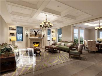 美式风情别墅设计案例