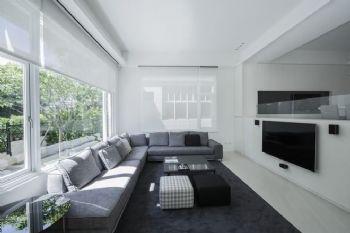 黑白灰现代别墅设计案例