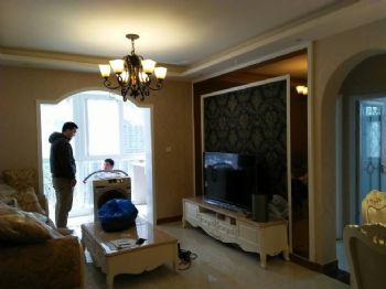 东区郑河家园小区欧式客厅装修图片