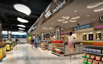 四川彭州超市装修案例