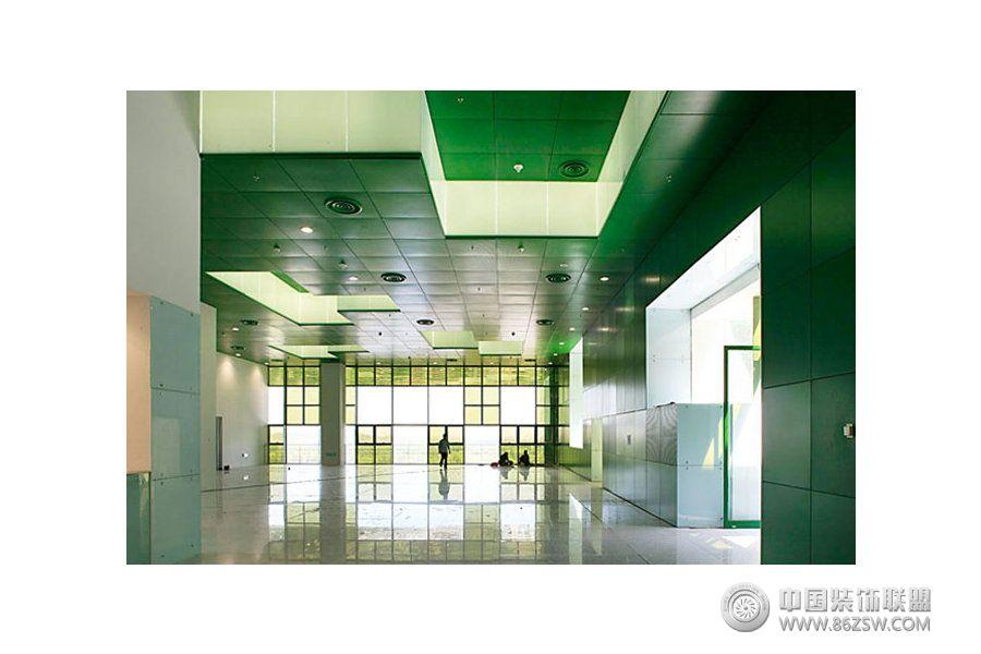 中国科学技术馆设计案例 单张展示 展厅装修效果图 八六