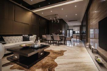 沉稳气质公寓设计案例