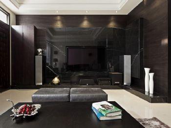 现代电视背景墙设计