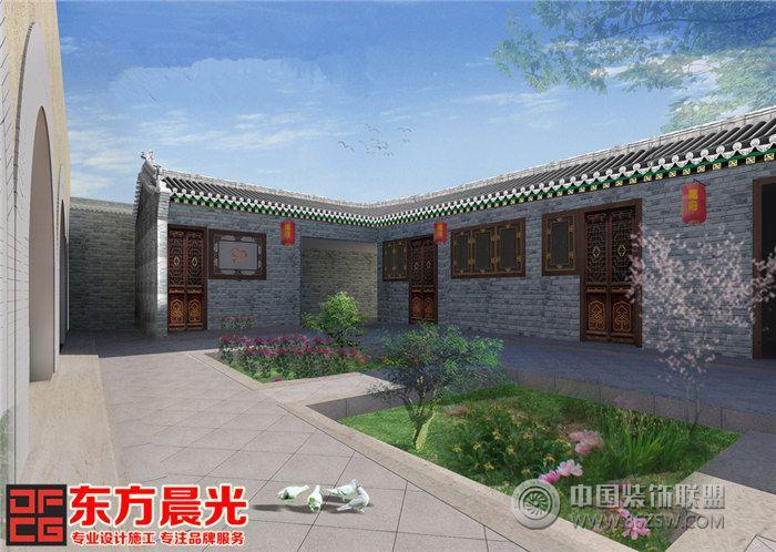 北京四合院设计传承中式建筑文化图片