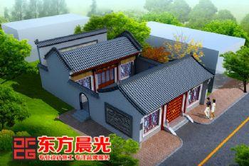 东方晨光古建筑设计装修稳重大气古典风格大户型