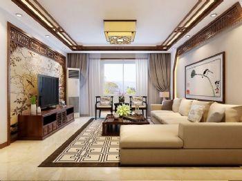 新中式风格三居设计案例