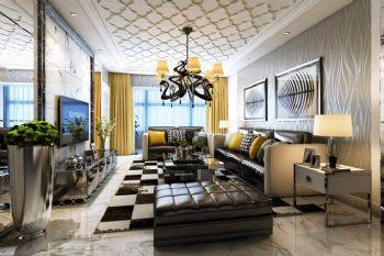 后现代客厅设计案例