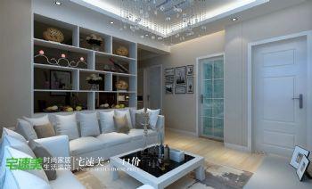 华伦港湾124平-现代简约现代风格三居室