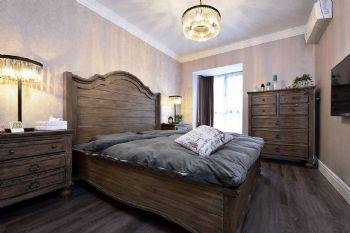 银湖时代美式风格三居室