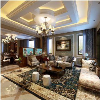 新中式联排别墅设计案例