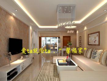 欧式风情-客厅装修效果图-八六(中国)装饰联盟装修