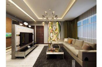 咖啡色个性公寓设计案例