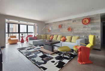 200平米现代风格四居装修效果图