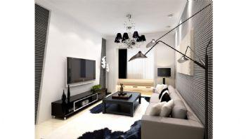 现代风格一居室设计图纸