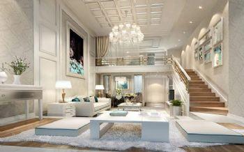 法式风格挑高别墅设计图