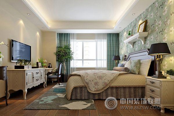 烟台君悦湾装修案例-卧室装修效果图-八六(中国)装饰