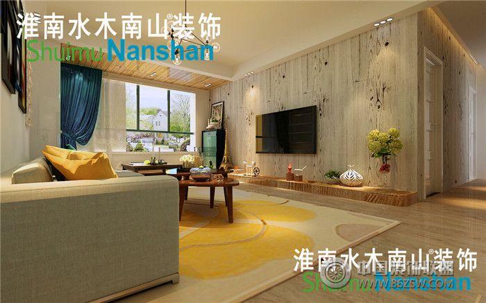 【香颂小镇】案例欣赏-客厅装修图片