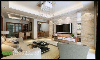 长江之歌户型解析简约风格二居室
