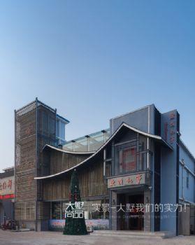 500㎡复古风文艺餐厅装修案例