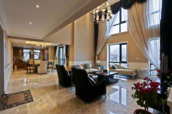 上海清新海派顶层公寓设计案例