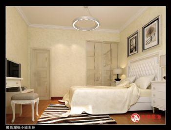 御西湖张小姐主卧现代风格三居室