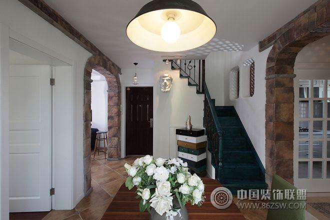 阿拉伯风格复式家居设计-餐厅装修效果图-八六(中国)图片