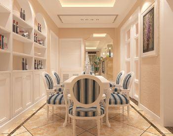保利紫薇郡装修现代风格三居室