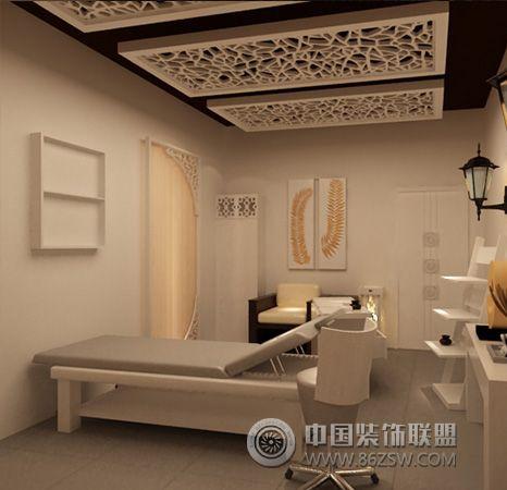 郑州美容院装修设计通过细节体现人文关怀-美容院装修图片图片