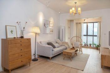 89平米清新简约三居室设计