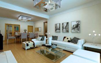 金域华府125方案解析现代风格三居室