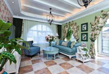 地中海风格混搭别墅装修案例