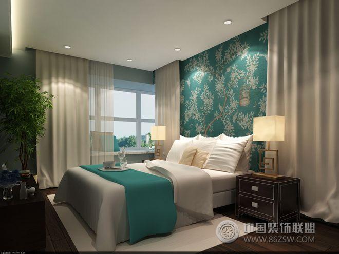 女性单身公寓设计案例-卧室装修图片