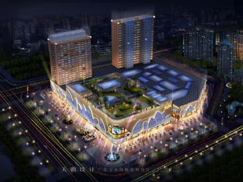 天霸设计城市综合体设计案例