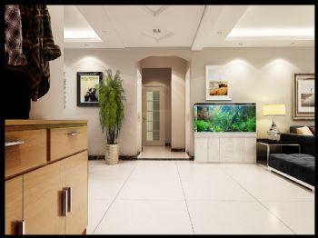 130平米现代中户型设计案例现代风格二居室