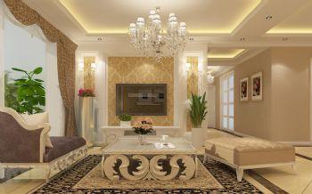 万科御龙山欧式欧式风格三居室