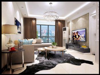天伦状院现代风格二居室