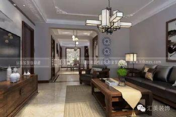 【汇美|案例】三江尊园| 143㎡ 新中式风格中式风格三居室