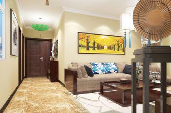 锦绣山河中式风格三居室