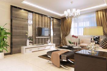 陽光新城古典風格三居室