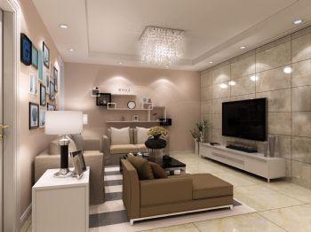东裕新村现代风格二居室